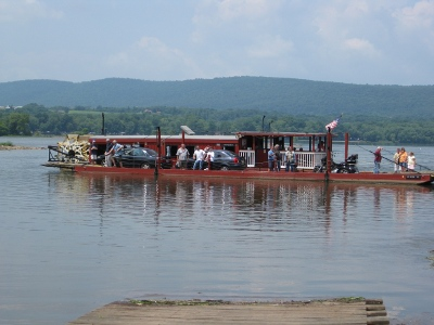Millersburg Ferry, approaching eastern shore